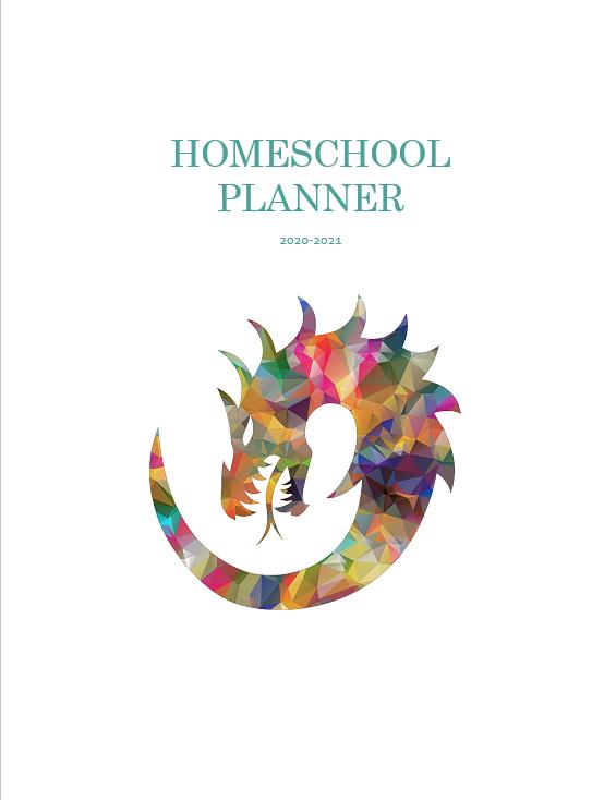 2020-2021 School Year Planner